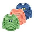 The boy's cotton fleece jacket 17 spring 2017 Korean children during the spring and autumn baby sweater