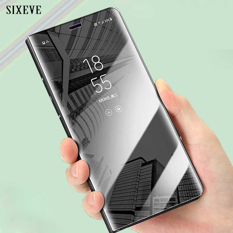 promo code f54a6 62c85 Detail Feedback Questions about SIXEVE Luxury Mirror Flip Phone Case ...