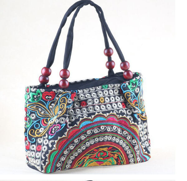 New Embroidered Bags Gorgeous Bohemian Handmade Embroidery Ethnic Thailand Handbag Shoulder Messenger Bag Vintage Hmong In From