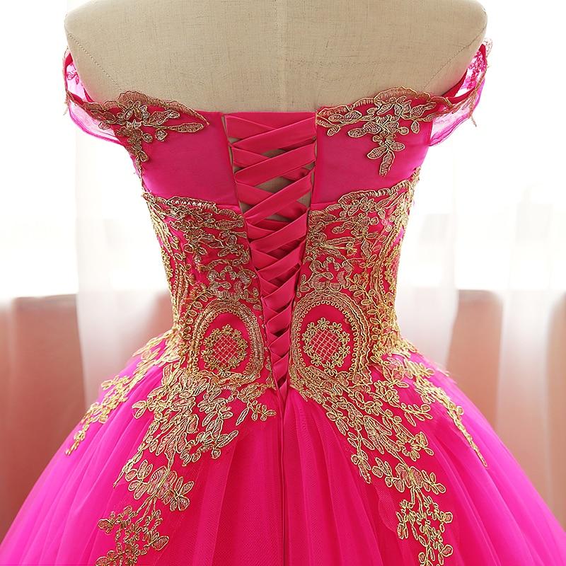 Aqua Blue Quinceanera Dresses Tulle Withh Gold Appliques Lace Sweet 16 Dresses Ball Gowns Vestidos De 15 Anos Debutante