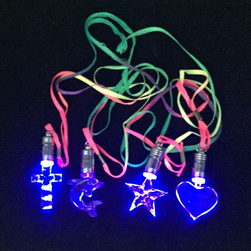 100 stks/partij Lichtgevende/Light Up/LED speelgoed Knipperende/Licht/Gloeiende/Led ketting Glow In De dark Party/Verjaardag/Kerst Decoratie-in Lichtgevend Speelgoed van Speelgoed & Hobbies op  Groep 3