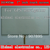 161X97mm 7inch 4 Wire Resistive Touch Screen Panel Digitizer GPS Navigator MP4 Tablet PC MID