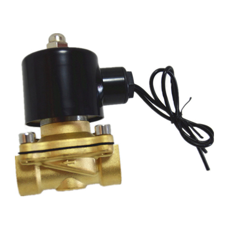 Copper Solenoid Valve G1/2 2w160-15 Normally closed for Water ,Electronic valve water valve 220V acCopper Solenoid Valve G1/2 2w160-15 Normally closed for Water ,Electronic valve water valve 220V ac