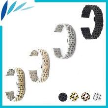 Aço inoxidável watch band 20mm 22mm para tudor butterfly fivela alça de Liberação Rápida Pulseira Cinto de Laço Preto Prata + Primavera Bar