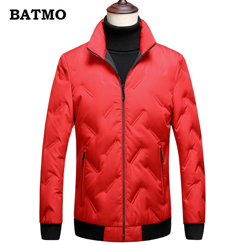 Batmo 2018 new arrival winter high quality thicked warm 80% grey duck   down   jackets men,winter men's parka ,winter   coat   8157