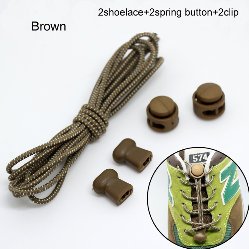 Tie shoelace Elastic Locking ,Shoelaces 5