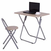 Goplus Folding Study Writing Desk Table + Chair Set Kids Student Learning Furniture Children Home School Table HW53820(China)