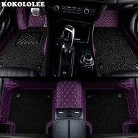 KOKOLOLEE Custom car floor mats for Chrysler 300C Grand Voyager Sebring auto accessories car styling