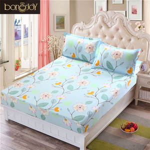 Bonenjoy Bed Sheet Queen Fitted Sheet Sets With Elastic