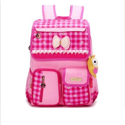 korean style school backpack for Key Function 2 : Blue Plaid Backpack