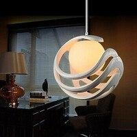 Szkło I Żywicy Nowoczesne Lampy LED Światła Wiszące lampy Dla Jadalnia Salon Nabłyszczania e Pendentes Luz, Lustre De Para Quarto, 1 Światła