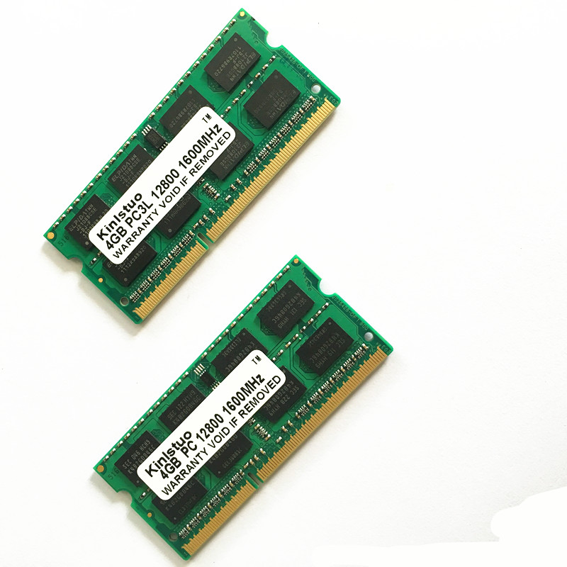 Laptop Memory <font><b>DDR3</b></font> PC3L RAM <font><b>SoDimm</b></font> <font><b>4GB</b></font> <font><b>DDR3</b></font> PC3-10600 1333mhz <font><b>1600</b></font>-12800 1066-8500 204 Pin 4G module memory NEW image