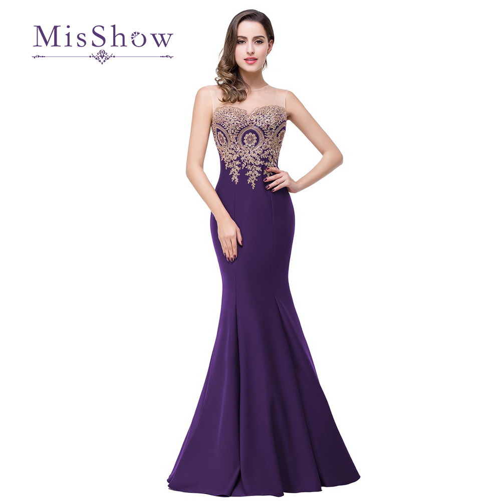 Online get cheap lavender bridesmaid dresses lace aliexpress scoop neckline gold lace appliques light purple lilac lavender blue mermaid bridesmaid dresses 2017 robe demoiselle ombrellifo Gallery
