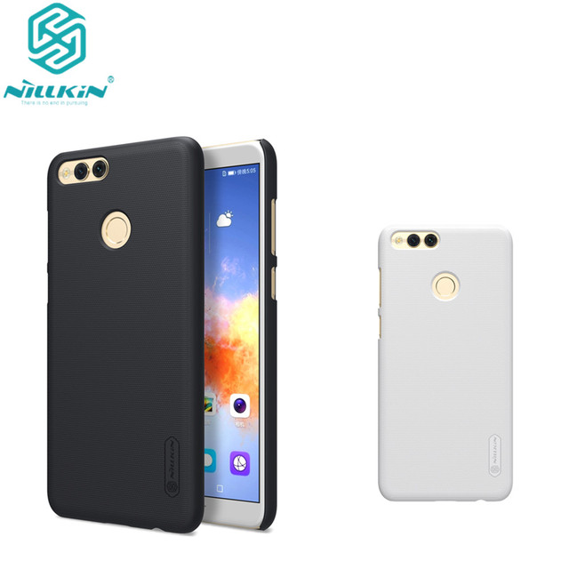 official photos eabce e2451 Original Nillkin for Huawei Honor 7X Case Cover Hard PC Matte Shield Phone  Case for Honor Play 7X Back Cover-in Fitted Cases from Cellphones & ...