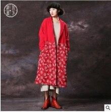 Высокое качество новой продукции на рынке в осень/зима день 2016, оригинальный дизайн хлопок свободные большие ярдов женщин хлопка