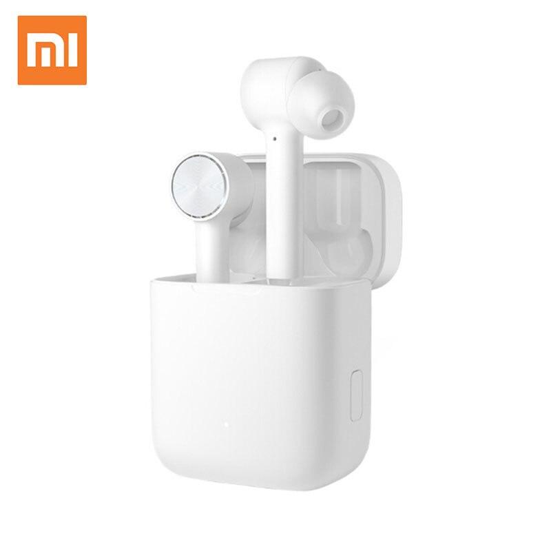Xiaomi Redmi Airdots écouteur Bluetooth 5.0 sans fil réduction de bruit casque avec Microphone oreille crochet écouteurs AI contrôle