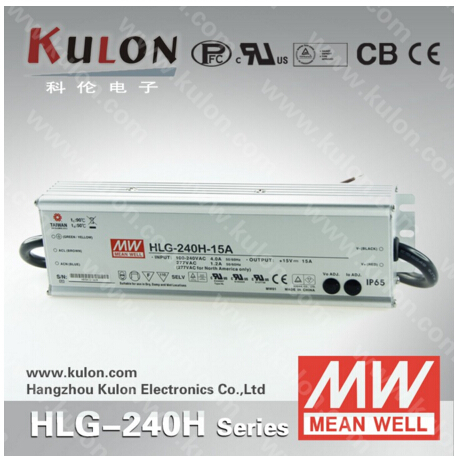 цена на MEAN WELL HLG-240H-48A LED lighting power supply 240W 48V 5A 7 years Warranty waterproof and adjustable