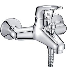 Смеситель для ванны WasserKRAFT Oder 6301 (Керамический картридж, встроенный аэратор, латунь, хромоникелевое покрытие)