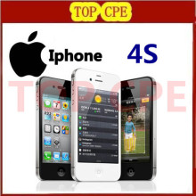 "100% Original phone Factory Unlocked Iphone 4S phone 3.5"" 8MP Camera GSM WCDMA WIFI GPS Unlocked Cell phones One Year Warranty"