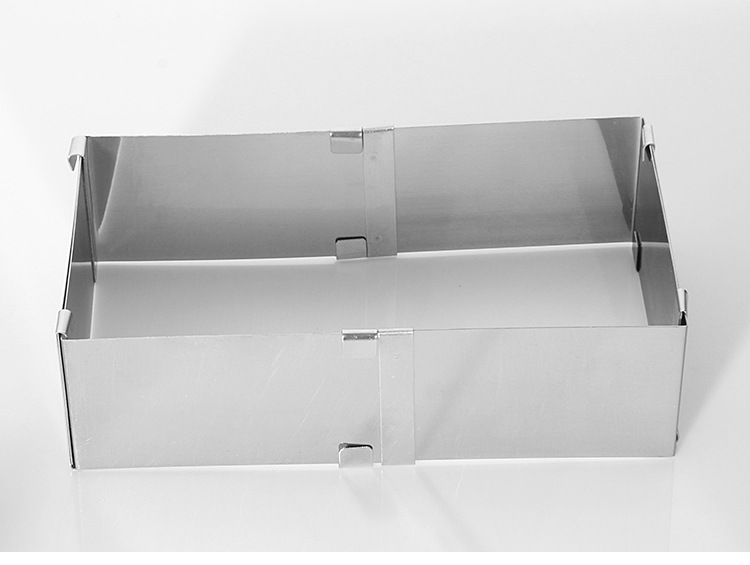 1 шт. 10-18 см регулируемая площадь S/Сталь Кондитерские инструменты мусс, Торт Кольцо Плесень Слои Slicer Cutter DIY торта KX 221