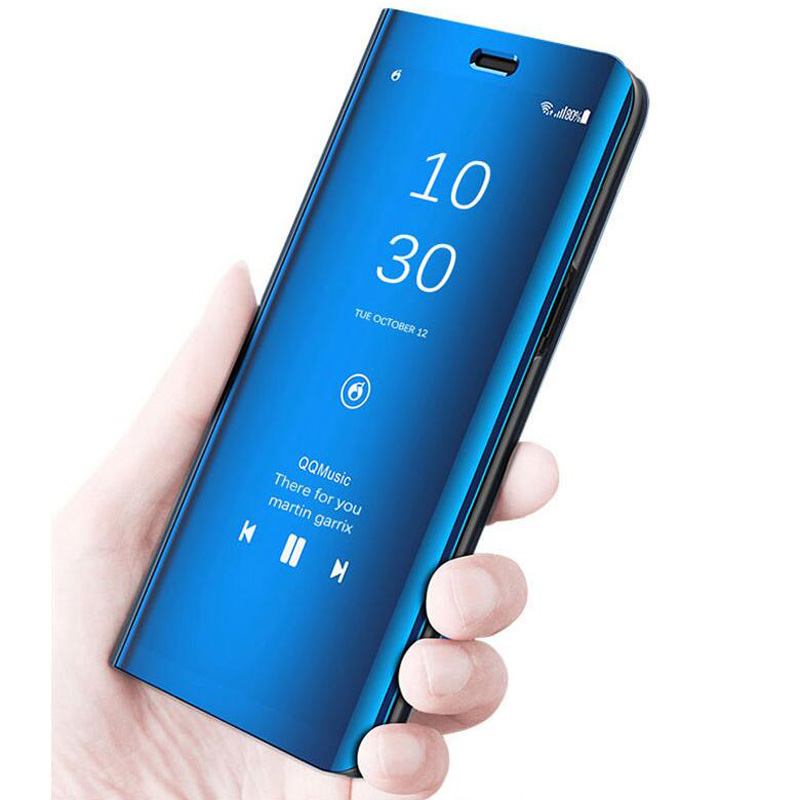Galleria fotografica For Coque Samsung Galaxy A30 Case Flip Stand Phone Case For Samsung Galaxy A50 Case A505F A505 A 50 Cover Mirror Funda A 30 Capa