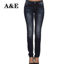Jeans Skinny Femmes Stretch Mi Taille Pa ...
