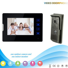 .V70T2-F 1V1 XSL Manufacturer Hot Sale 7Inch Touch-Key Video Door Phone and Intercom System For Apartments Home Security