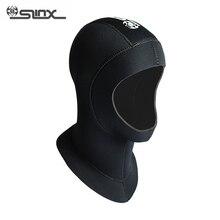 Hat Diving-Hoods Swimming Neoprene Spearfishing Full-Face-Mask Waterproof Slinx 3mm Neck-Hat