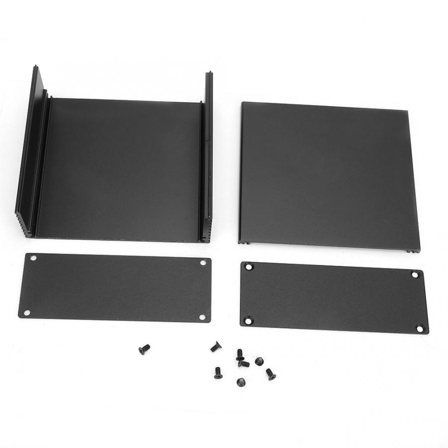 cheapest Circuit Board Instrument Aluminum Cooling Box DIY Electronic Project Enclosure Case 40 110 100mm for Heat-dissipating
