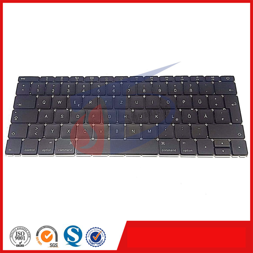 2016year Laptop for MacBook 12 Retina A1534 Keyboard German Germany DE without Backlight MLHA2 MLHC2 EMC 2991 laptop keyboard for acer silver without frame bulgaria bu v 121646ck2 bg aezqs100110