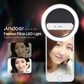 Andoer Clip-on Selfie Кольцо Света Мобильный телефон Selfie Свет led лампа 5600 К светодиодные лампы видео для iPhone 7/7 +/6 s/6 Samsung Смартфонов светильник