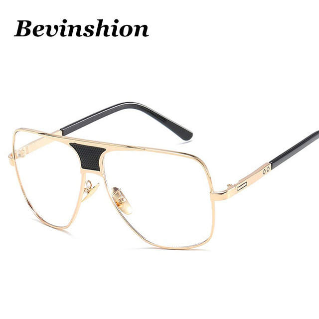 76905c8780f Brand One Piece Metal Oversized Sunglasses Men Pilot Sun Glasses Clear Lens  Pink Mirror Big Frame Driver Goggles UV400 Eyewear