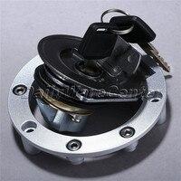 Alüminyum Yakıt Gaz Deposu Kapağı kapak Kilidi ile Anahtar Için Motosiklet Motosiklet FJR1300 XJR1300 FZ1S R1 2002-2011