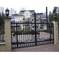 Luxury Driveway Main Iron Gates Iron Driveway Gates Iron Entry Gates