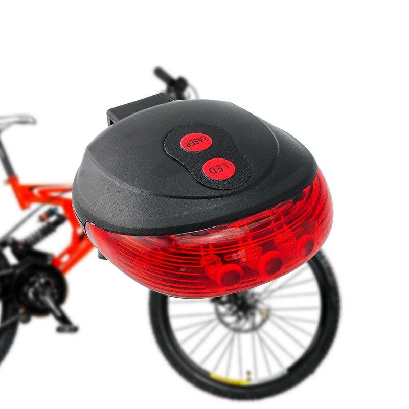 LED waterproof bike front rear tail helmet red flash lights safety warning laBP