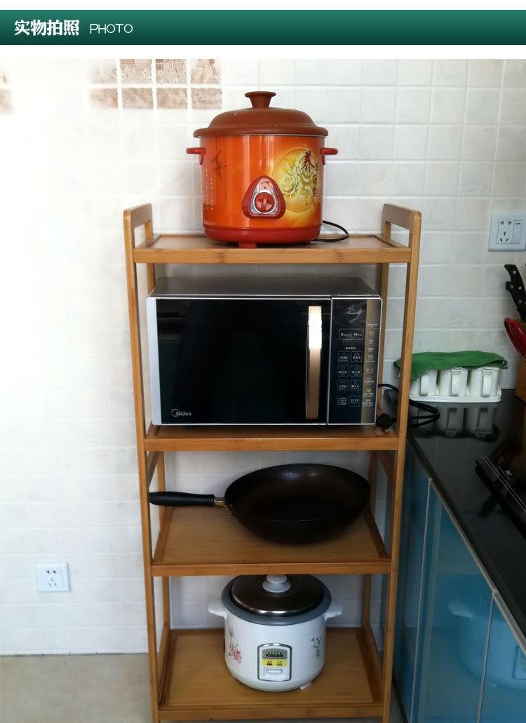 Thick Kitchen Microwave Oven Shelf Microwave Oven Shelf Storage Rack
