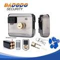 10 меток электрический замок и замок ворота система контроля доступа электронный интегрированный RFID дверной обод замок с IC считыватель 13 56 М...