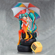 Hatsune Miku Racing 2016 Ver. Action Figure 1/8 Scale Paint Collectible Model Toy