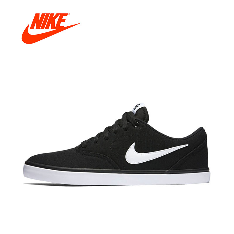 Original New Arrival Authentic Nike SB CHECK SOLAR CNVS Men skateboarding shoes Comfortable Breathable nike original new arrival mens skateboarding shoes breathable comfortable for men 902807 001