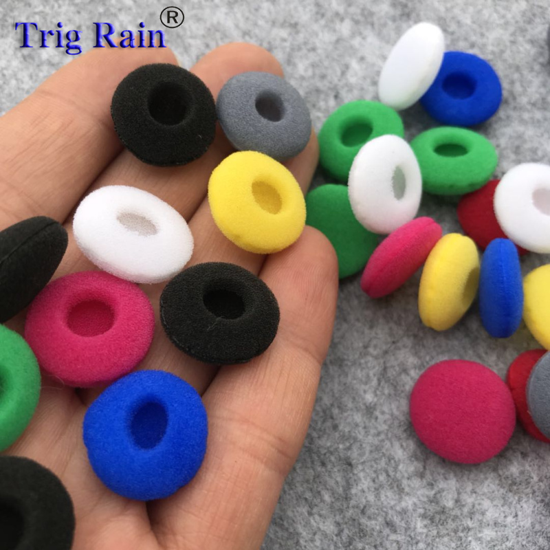 Ear Pads For Headphones Foam 18mm Sponge Bluetooth Earphones Replacement Earphone Earpads Covers MP3 MP4 Moblie Phone