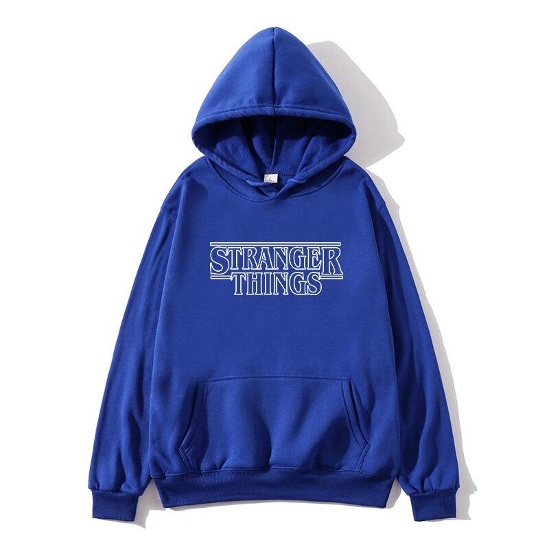 Mens Hoodie Strangers Sweatshirt Ms./Men Casual Unfamiliar Womens