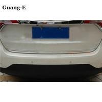 Free shipping for Kia Sorento 2013 2014 car Sticks body styling ABS chrome Rear door tailgate frame plate trim lamp 1pcs