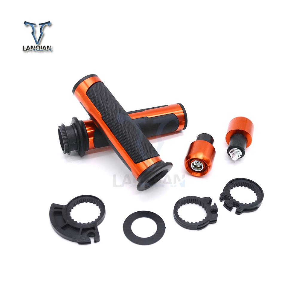 7/822mm Handlebar Motor Rubber hand Grips for Yamaha T MAX TMAX 530 500 TMAX530 BWS TTR XMAX 125 250 300 400