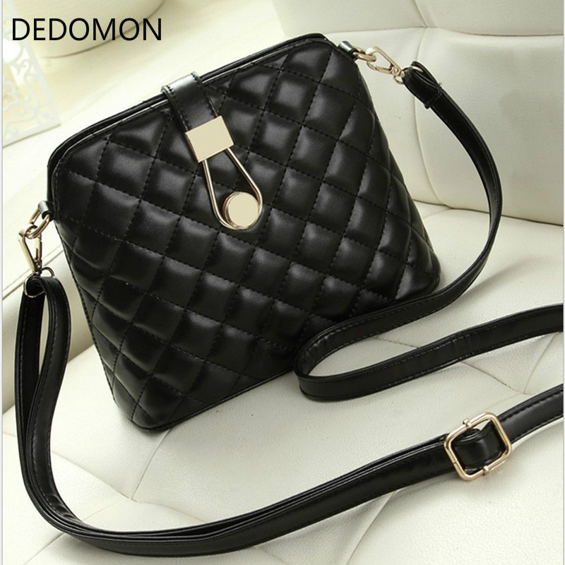 Women Bag Messenger-Bags Embroidery Zipper-Pocket Luxury Handbags Small Black Waterproof