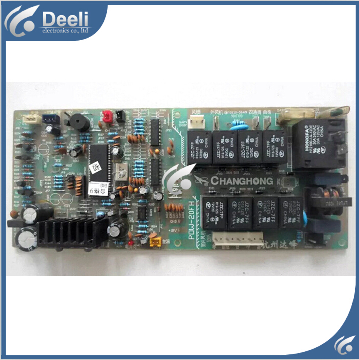 95% new good working for air conditioning Computer board JU7.820.1730 POW-20FH pc board circuit board on sale