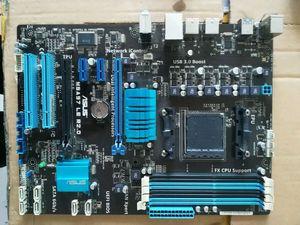 Used,for Asus M5A97 LE R2.0 Original Desktop Motherboard 970 AM3/AM3+ FX6300 FX8300 DDR3 32G SATA3 USB3.0 ATX(China)