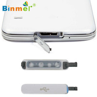 Binmer FOR Samsung Galaxy S5 Replacement Usb Port Cover Flap 0410 drop shipping
