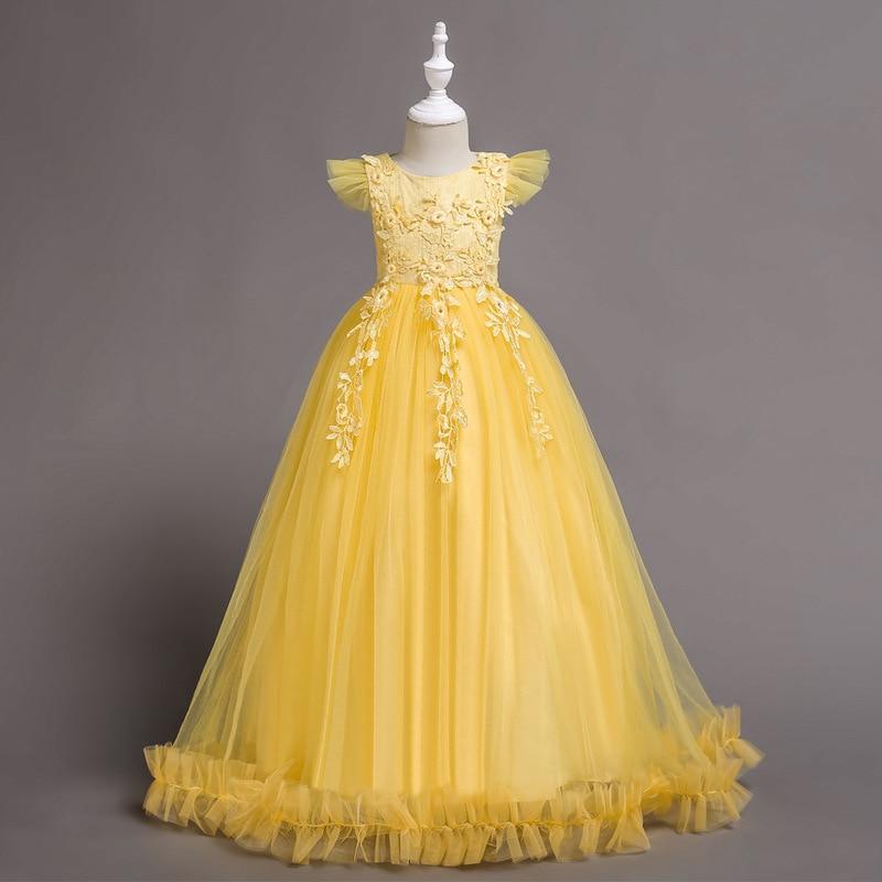3 14Yrs Cinderella Girls Elsa Dress Costumes For Kids Dresses Princess Anna Dress Children Party Dresses Fantasia Vestidos CA607