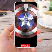 Mutouniao Avengers Design-4 Silicon Soft TPU Case Cover For Infinix Note 4 X572 Hot S3 X573 Smart X5010(China)