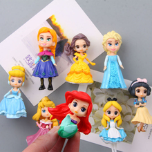 3 choice Fridge Magnets 3d People Souvenir Mermaid Snow White Princess Aisha PVC Magnetic Sticker Kids sticker Decora